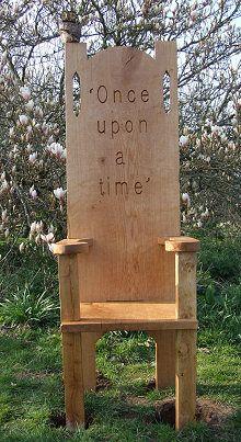 Oak Story Telling Chair