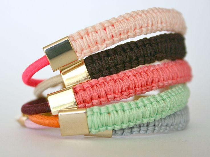 Makramee Armband // macrame bracelett by Kamiko via DaWanda.com