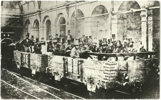 first London underground journey