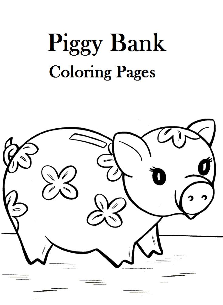 piggy coloring pages - photo#18