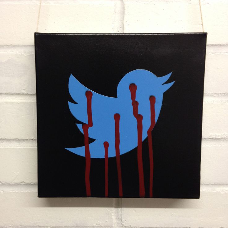 10x10inch (25.4x25.4cm) Spray painted stencil on canvas - acrylic paint