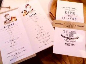 吉田怜香結婚式プロフィールブック