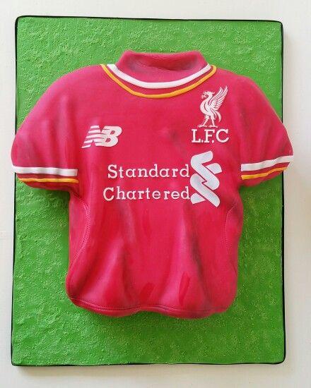 Liverpool Football Club shirt cake