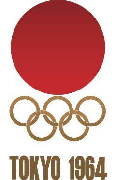 Simplicity please. Olimpiadas,Tokio,1964. Tipografía condensada de palo seco.