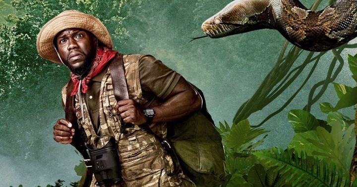 Jumanji Proxima Fase Cobra Gigante Ataca Os Jogadores Em Trailer Final Borderlands Trailer Kevin Hart