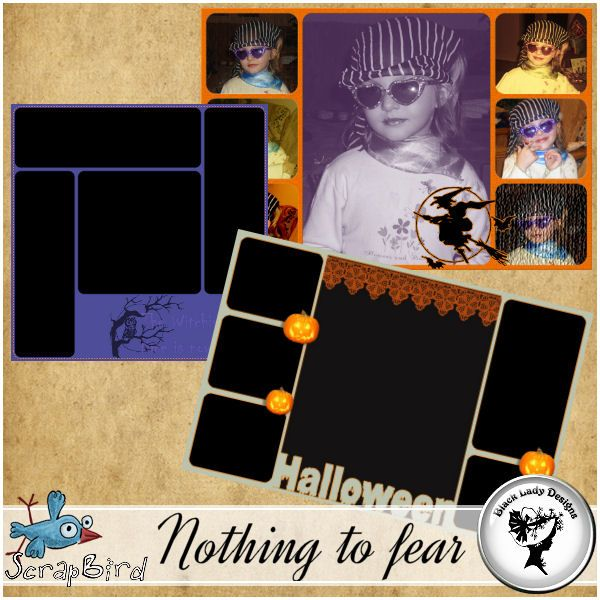 Nothing to fear - Storyboards by Black Lady Designs