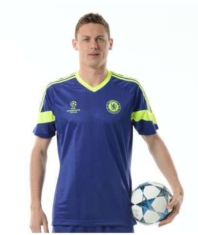 Chelsea UCL Training Jersey - Blue:Yellow Chelsea London Official Merchandise Available at www.itsmatchday.com