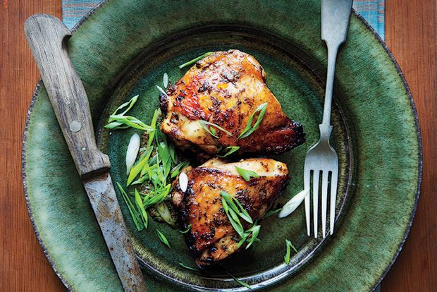 Find the recipe for Citrus-Marinated Chicken Thighs and other citrus recipes at Epicurious.com