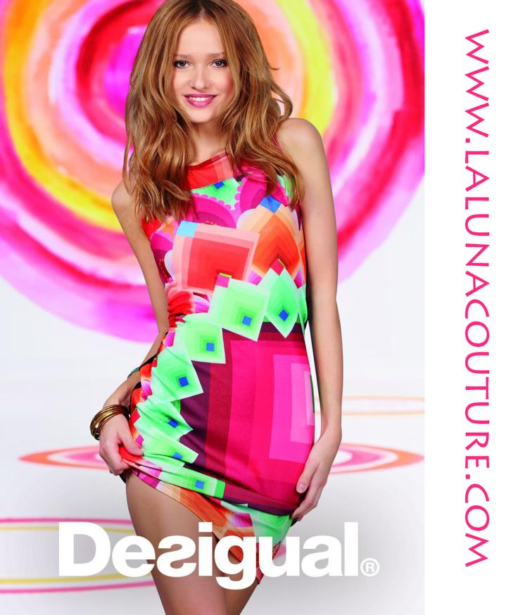 Desigual Margaret Dress On Sale! $99! Was $139!  Our most refreshing dress this summer. Its fitted shape will flatter your figure and its attractive print is hypnotising. Order yours now!  https://www.lalunacouture.com/desigual-margaret-dress.html  #desigual #margaretdress #summerdresses #desigualdresses