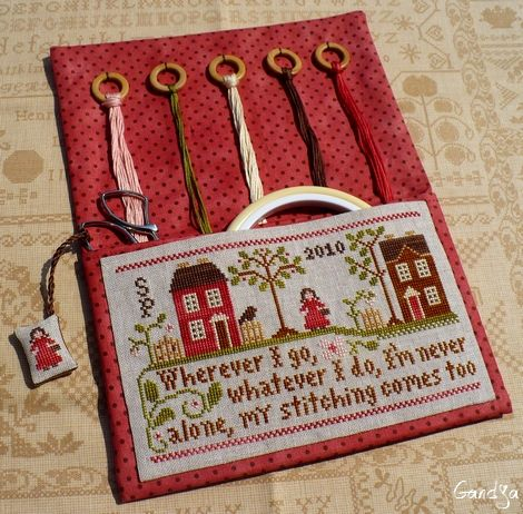Traveling Stitcher de LITTLE HOUSE NEEDLEWORKS - L'Atelier de Gandja