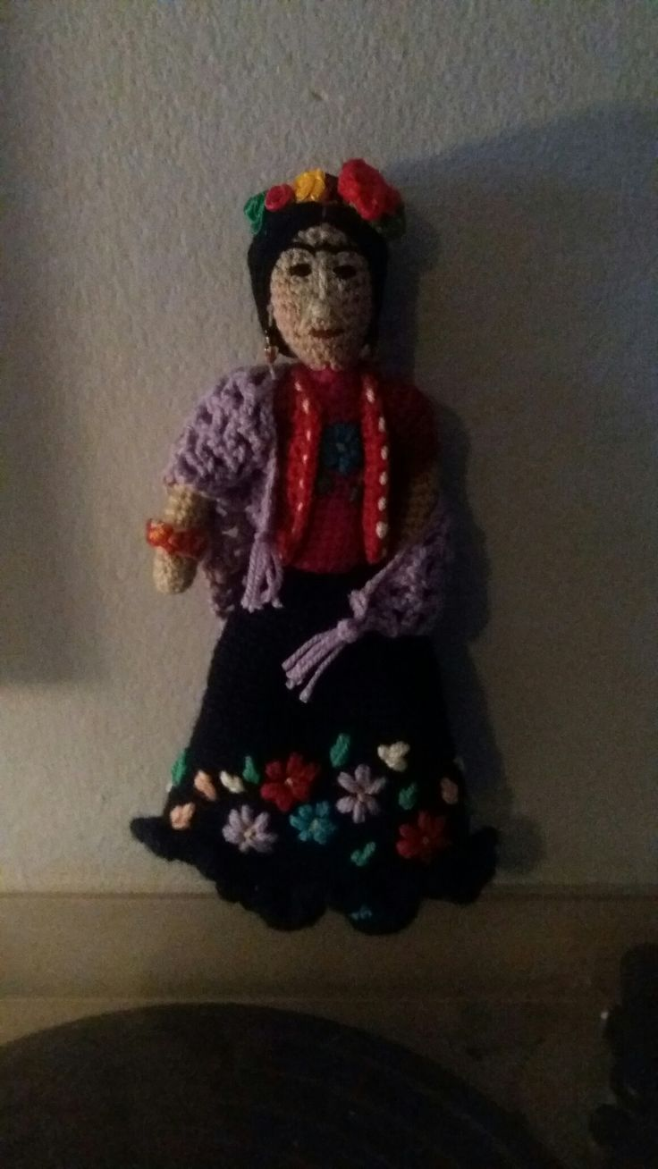 Frida Kahlo. Crochet