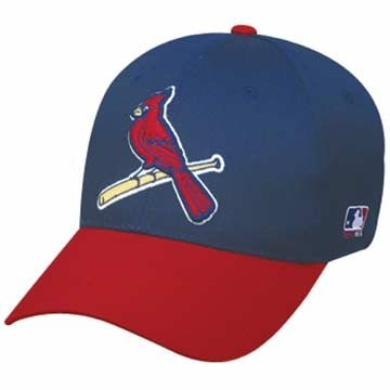 St Louis Cardinals Alternate ADULT Poly CottonTwill Cap