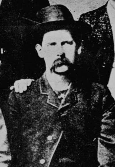Wyatt Earp in Dodge City.