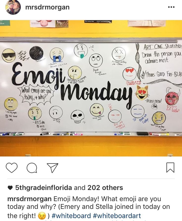 another inspiration for incorporating art into the morning message this kind of design leaves a lasting impression on a student