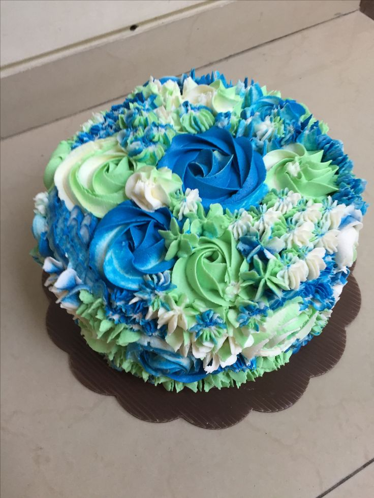 Ombre cake Buttercream cake  #ombre #ombrecake