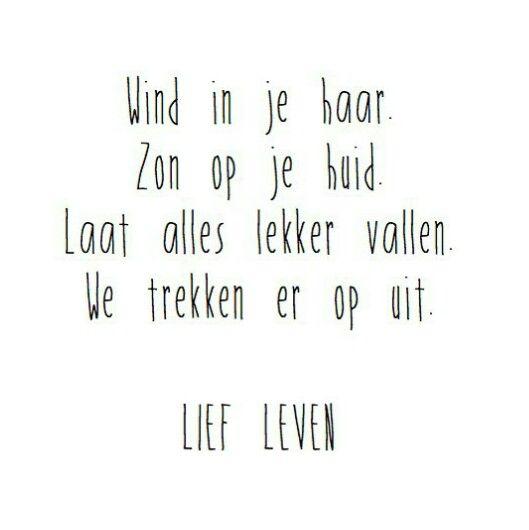 Lief leven #K