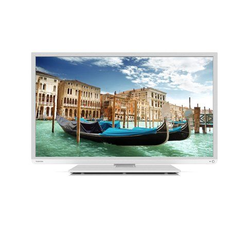 tv cran plat toshiba 40l1333dg blanche tv pas cher tv. Black Bedroom Furniture Sets. Home Design Ideas