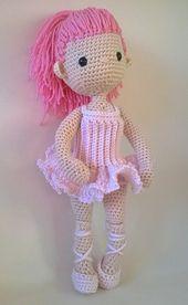 Ravelry: Ballerina Outfit - my little crochet doll pattern by Betty Virago