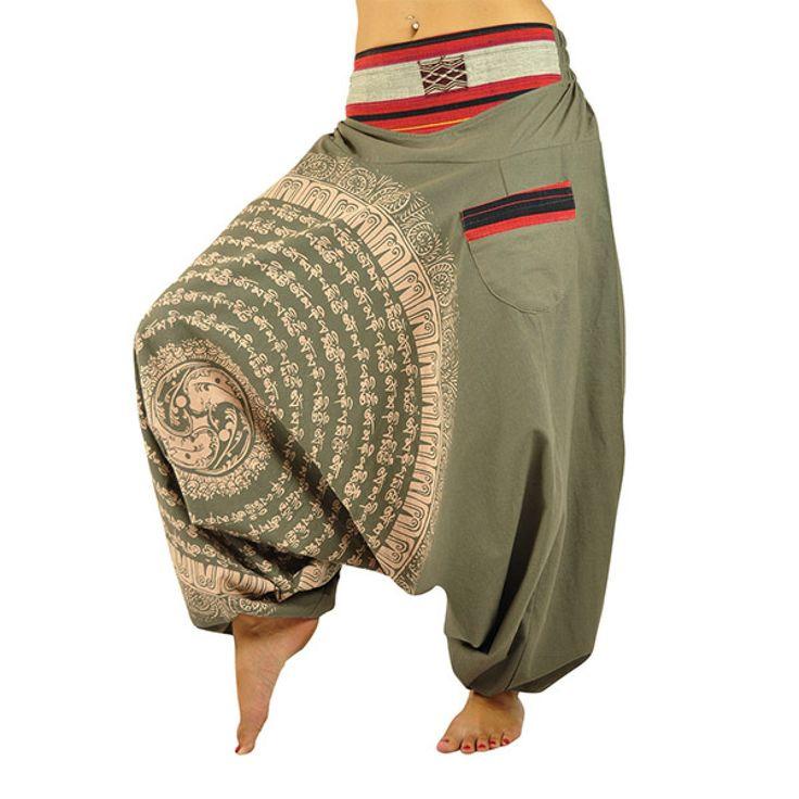 virblatt - Aladdin pants Nirvana brown - Aladdin trousers - Trousers