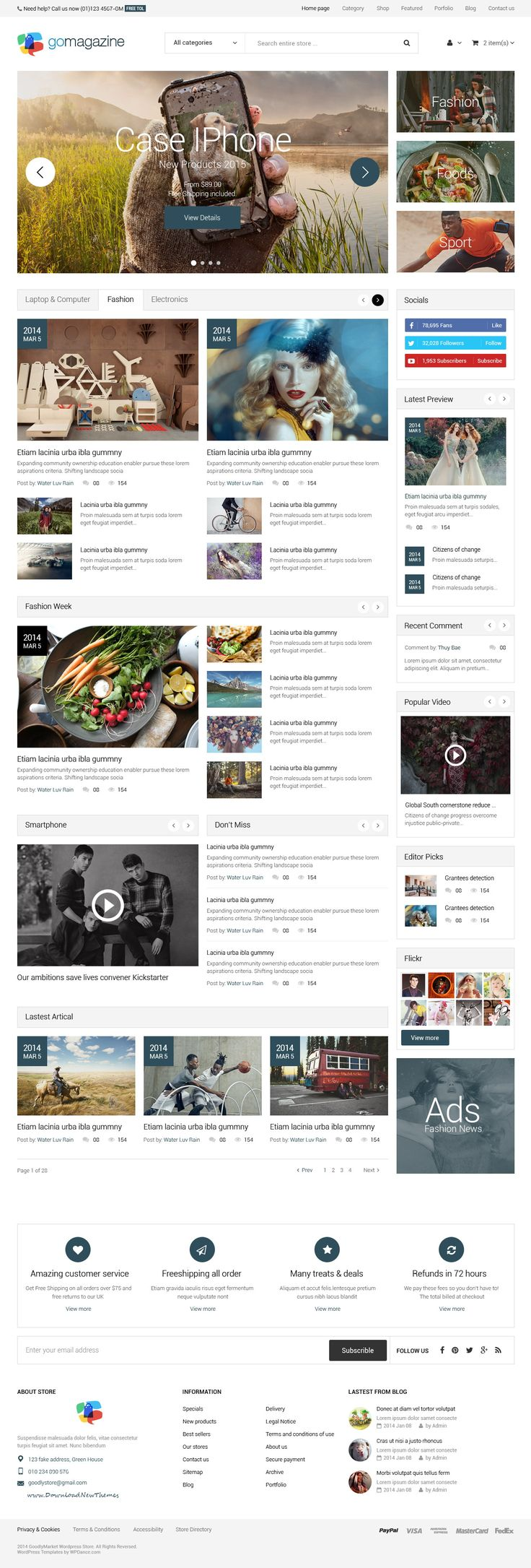 WooMarket Amazing Supermarket WordPress WooCommerce Theme // Hi Friends, look what I just found on #web #design! Make sure to follow us @moirestudiosjkt to see more pins like this | Moire Studios is a thriving website and graphic design studio based in Jakarta, Indonesia.