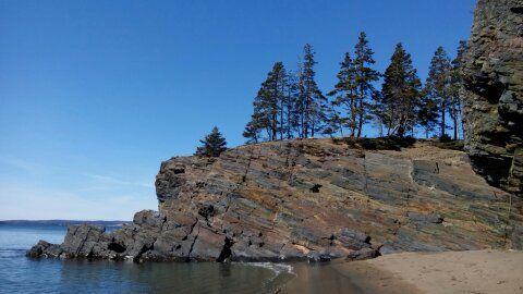 """Gaff Point Hiking Trail, Hirtle's Beach, Nova Scotia, Canada - """"Secret Beach"""""""