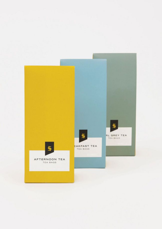 Packaging of the World: Creative Package Design Archive and Gallery: Selfridges Tea