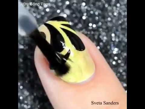 Olip Pretty ♥ 10 Best Nails Art by Sveta sanders - YouTube