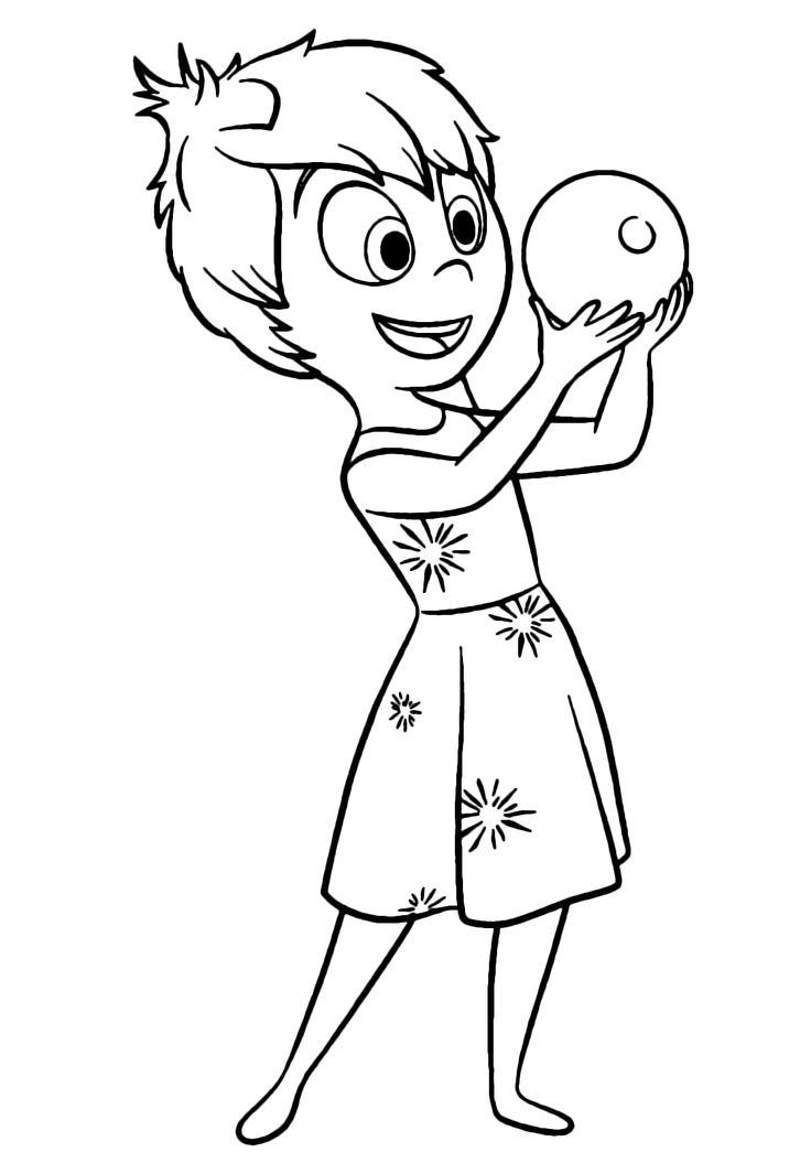 risultati immagini per inside out personaggi da colorare