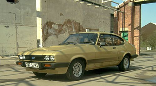 Doyle's Solar Gold Ford Capri Mark III 3.0S - OAR 576W (TV Plate) The Professionals.  If only we could see into the future, I would never have sold the one I had like this, loved it.