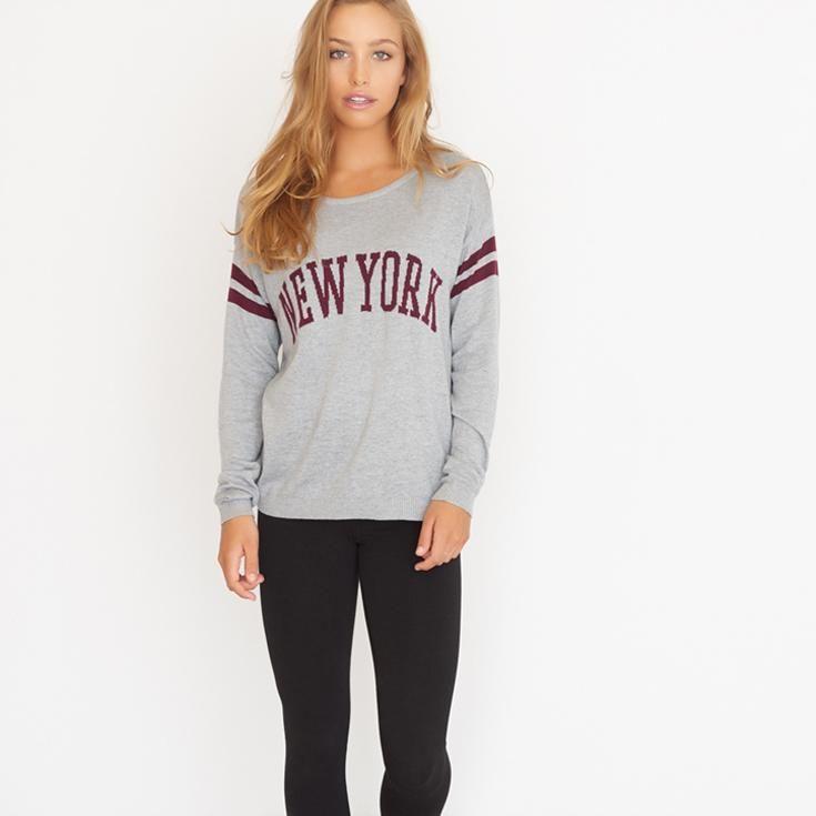 Graphic Sweater.