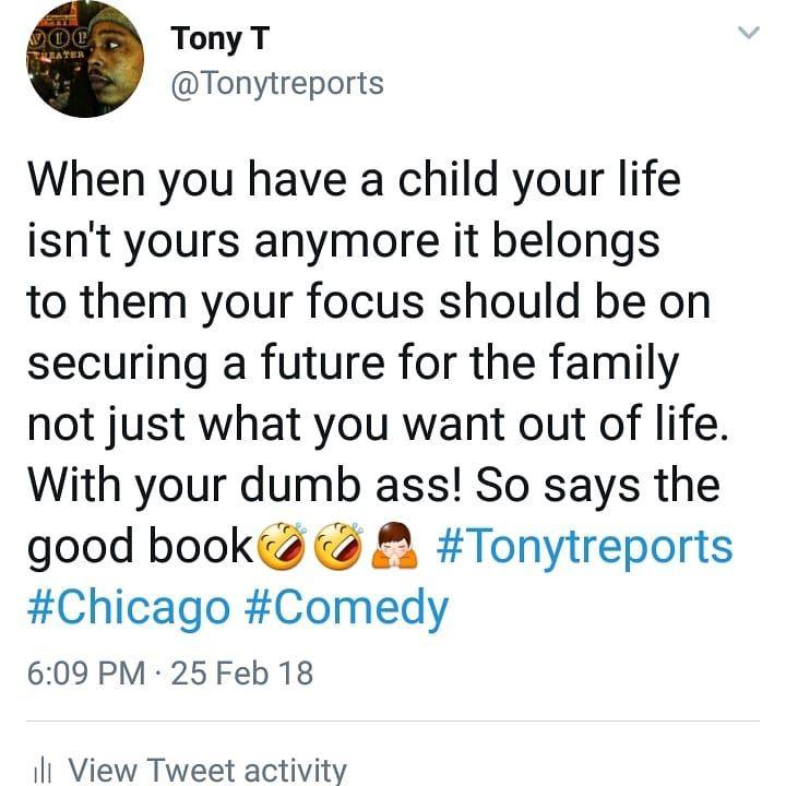 My good book got bangers #lmao #Tonytreports #Chicago #comedy #lol #LONScomedyshow #funny #tweet #comedyhype #laughfactory #Toronto #London #japan #Houston #Atlanta #LA #NYC #Miami