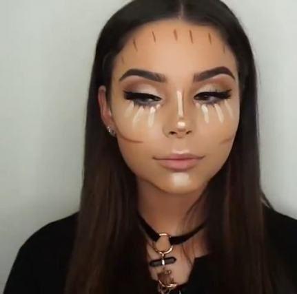 Trendy eye makeup ideas halloween 17 ideas #makeup #eye