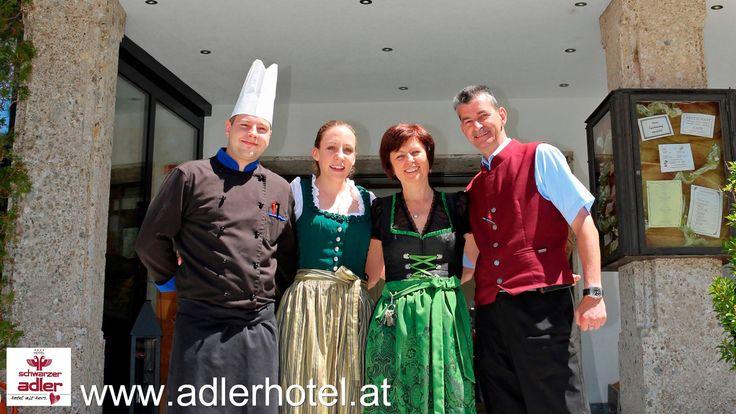 Die Gastgeber im familiengeführten Hotel Schwarzer Adler