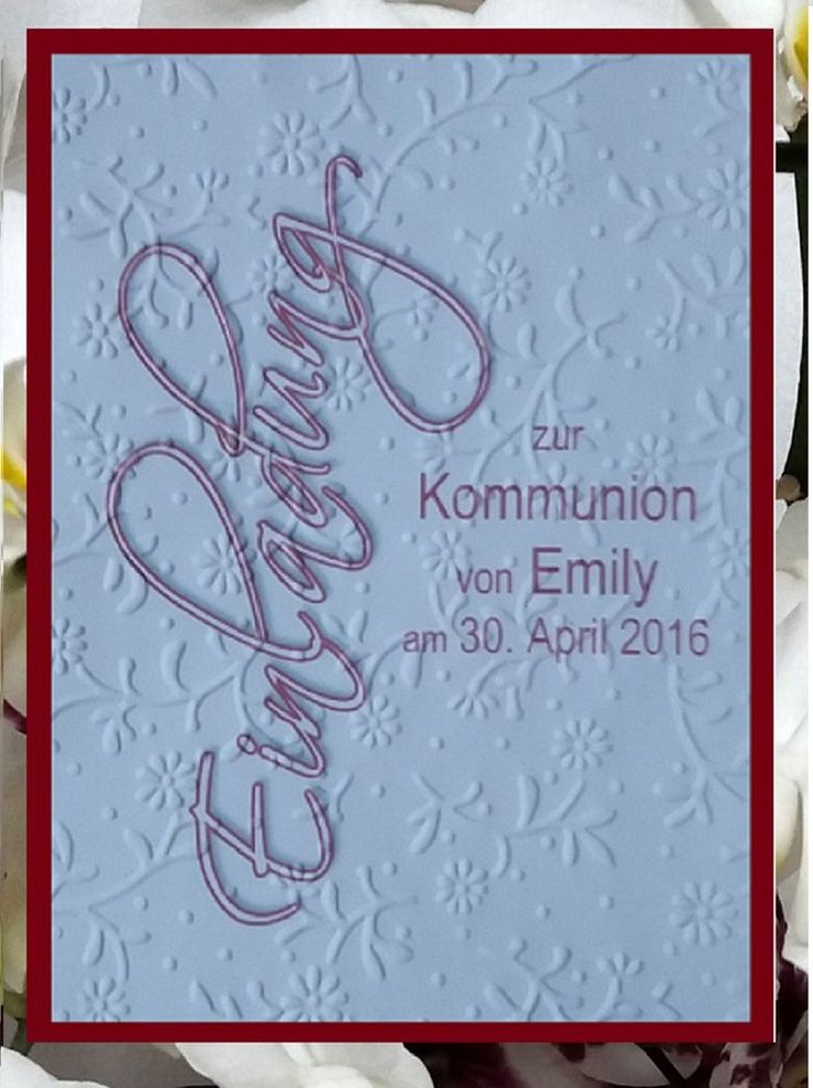 18 best einladung zur jugendweihe basteln images on pinterest, Einladung