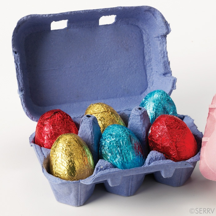 43 best easter gifts and goodies images on pinterest easter gift blue easter egg hunt kit a small egg carton holding six hollow milk chocolate eggs negle Choice Image