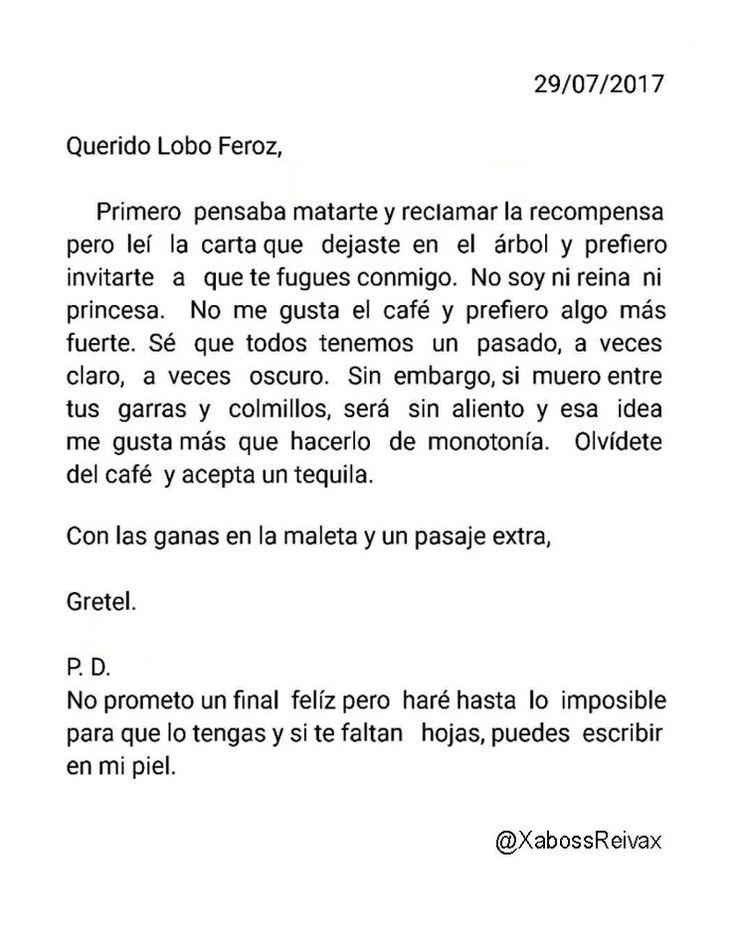 Carta#23   @XabossReivax   #ByXaboss