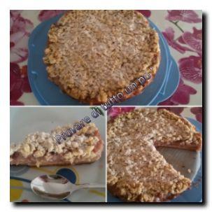 La Sbriciolata alle mele e crema pasticcera è una torta facile ma soprattutto veloce da preparare.