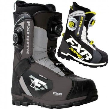 FXR Racing Tactic BOA Focus Mens Snowboard Skiing Sled Snowmobile Boots