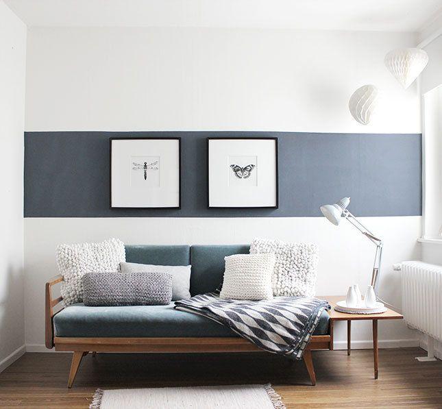 ... 8 Alltagstipps Für Ein Aufgeräumtes, Ordentliches Zuhause   Wohnzimmer  Ideen Streifen ...