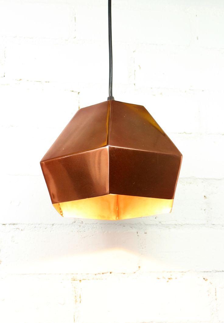 kupari copper pendant light