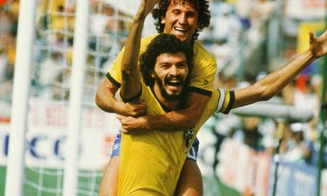 Socrates e Zico 1982 http://hypercool.com.br