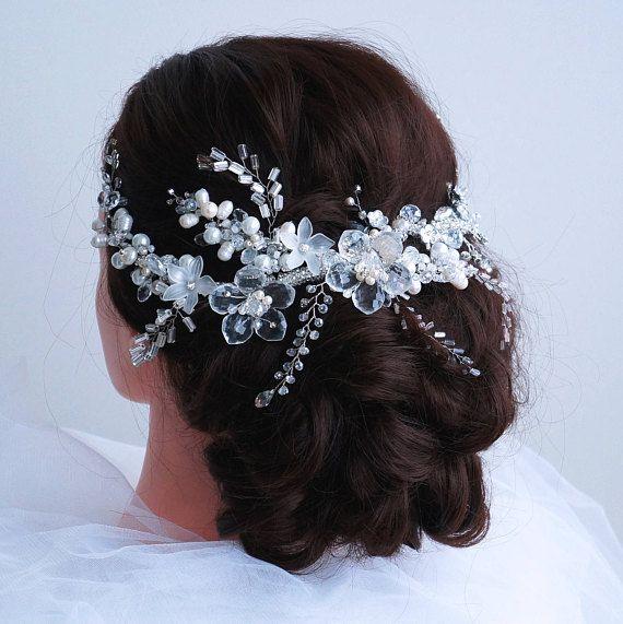 Bridal Headpiece Wedding Hair Vine Bridal Hair Vine Bridal