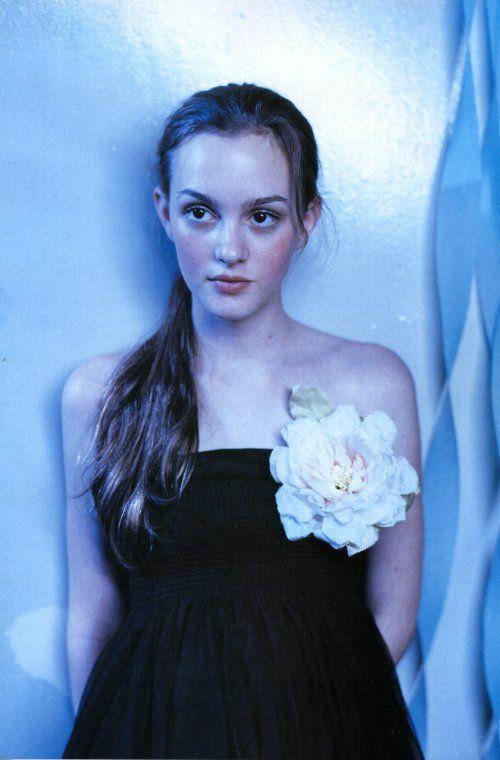 Leighton Meester photo by Sofia Coppola