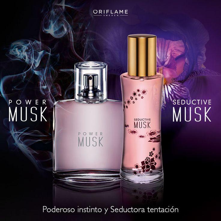 ¿Sabías que el almizcle o Musk es el aroma con mayor poder afrodisíaco? ¡Descubre tu poder de seducción con Power y Seductive Musk! #Fragancias #SeductiveMusk #PowerMusk #OriflameMx
