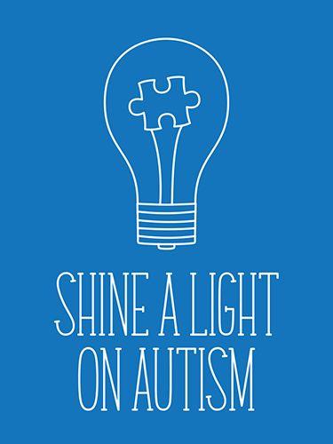 Shine a Light on Autism – Free Printable Journal Card