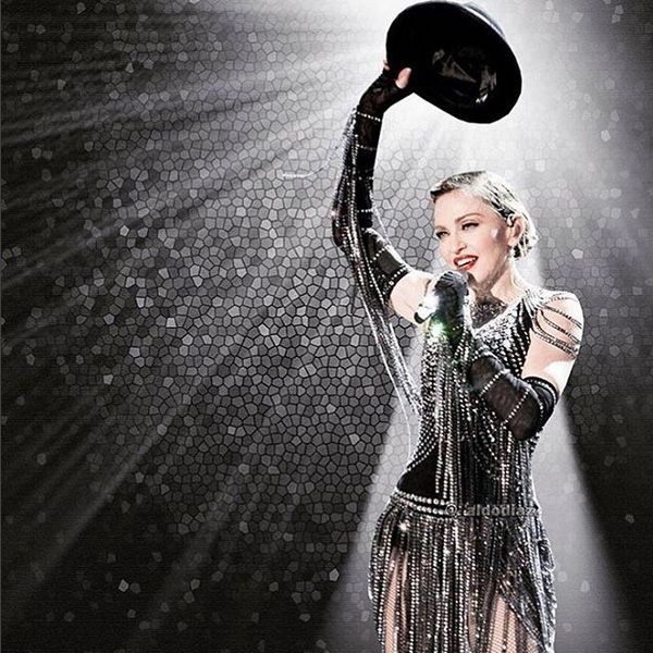 Still in love after all these years... (after seeing Rebel Heart Tour video)  #madonna