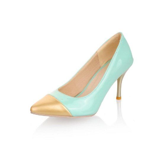Brand New Fashion Hit Color Womens Pump High Heels Pointed Shoes (10, Blue) Charm Foot,http://www.amazon.com/dp/B00D18TWHU/ref=cm_sw_r_pi_dp_RAfisb0BB11HSBBX