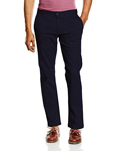 Dockers BIC PACIFIC WASHED KHAKI SLIM TAPERED - STRETCH TWILL, Pantalones Hombre, Azul (PEMBROKE), W36/L34 (Talla del fabricante: 36) #Dockers #PACIFIC #WASHED #KHAKI #SLIM #TAPERED #STRETCH #TWILL, #Pantalones #Hombre, #Azul #(PEMBROKE), #(Talla #fabricante: