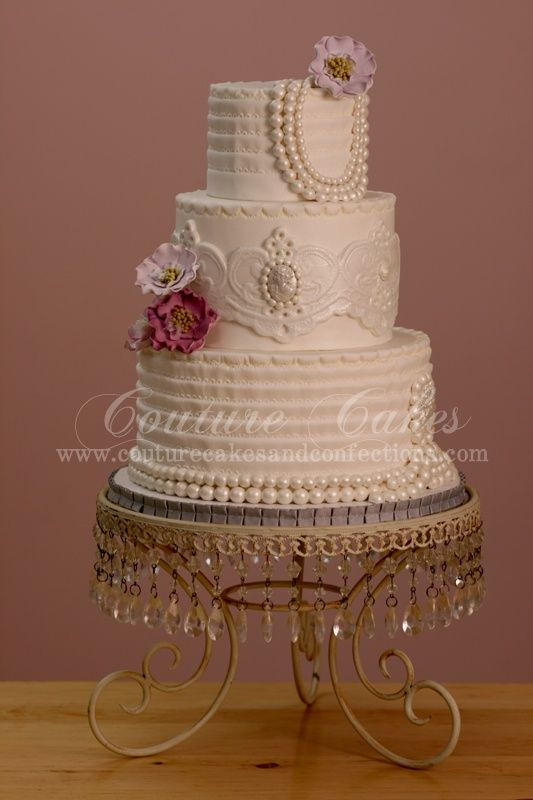 1920's INSPIRED WEDDING THEMES | Wedding Cakes Mondays: 1920′s Wedding Cakes