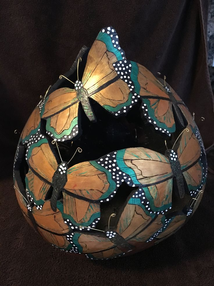 Gourd Art by Susan Fuller More